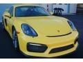 Porsche Cayman GT4 Racing Yellow photo #19