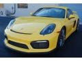 Porsche Cayman GT4 Racing Yellow photo #21