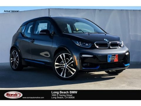 Mineral Grey 2019 BMW i3 S with Range Extender