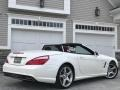 Mercedes-Benz SL 550 Roadster Diamond White Metallic photo #2