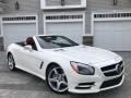 Mercedes-Benz SL 550 Roadster Diamond White Metallic photo #5