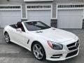 Mercedes-Benz SL 550 Roadster Diamond White Metallic photo #16