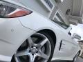 Mercedes-Benz SL 550 Roadster Diamond White Metallic photo #19