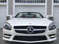 Mercedes-Benz SL 550 Roadster Diamond White Metallic photo #24