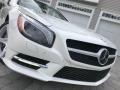 Mercedes-Benz SL 550 Roadster Diamond White Metallic photo #25