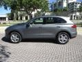 Porsche Cayenne Diesel Meteor Grey Metallic photo #3