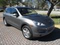 Porsche Cayenne Diesel Meteor Grey Metallic photo #15