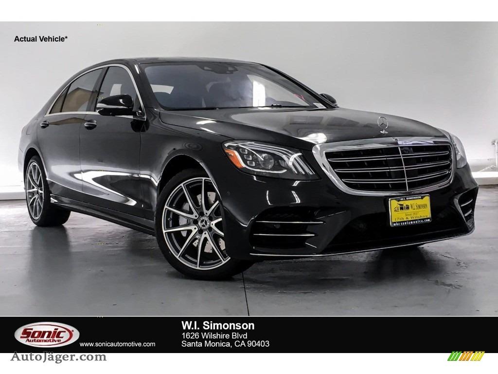 2019 S 560 Sedan - Black / Black photo #1