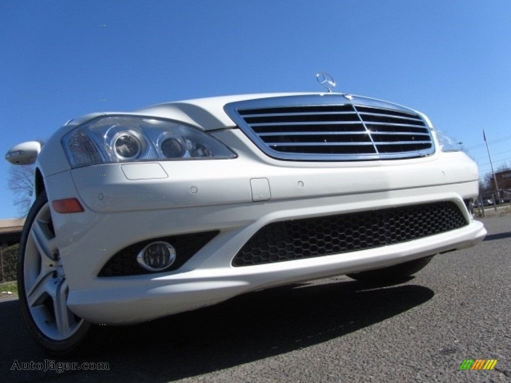 2008 S 550 Sedan - Arctic White / Cashmere/Savanna photo #1
