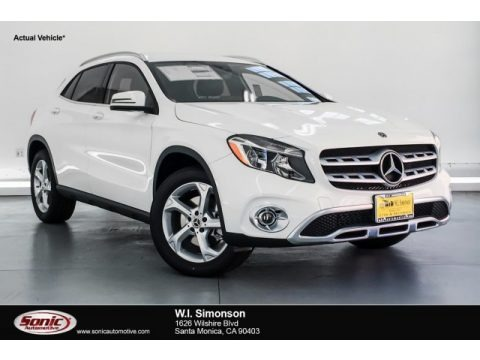 Polar White 2019 Mercedes-Benz GLA 250