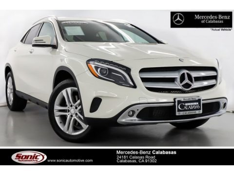 Cirrus White 2016 Mercedes-Benz GLA 250