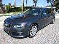 Audi A4 2.0T Premium quattro Sedan Meteor Grey Pearl Effect photo #1