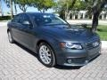 Audi A4 2.0T Premium quattro Sedan Meteor Grey Pearl Effect photo #14