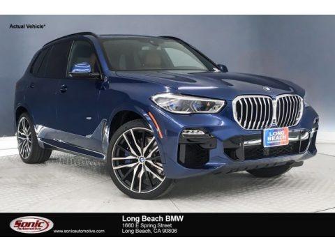 Phytonic Blue Metallic 2019 BMW X5 xDrive50i