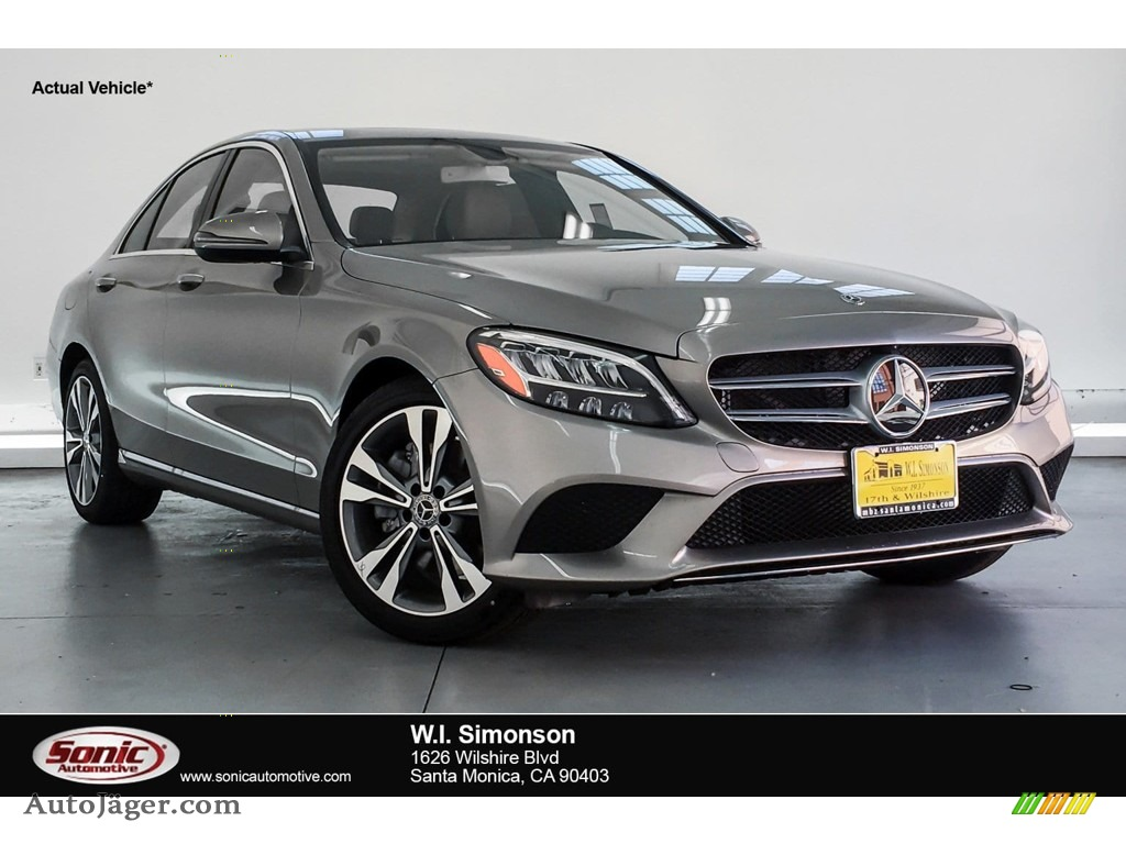 Mojave Silver Metallic / Silk Beige/Black Mercedes-Benz C 300 Sedan