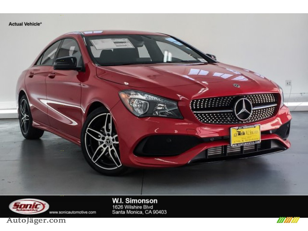 2019 CLA 250 Coupe - Jupiter Red / Black photo #1