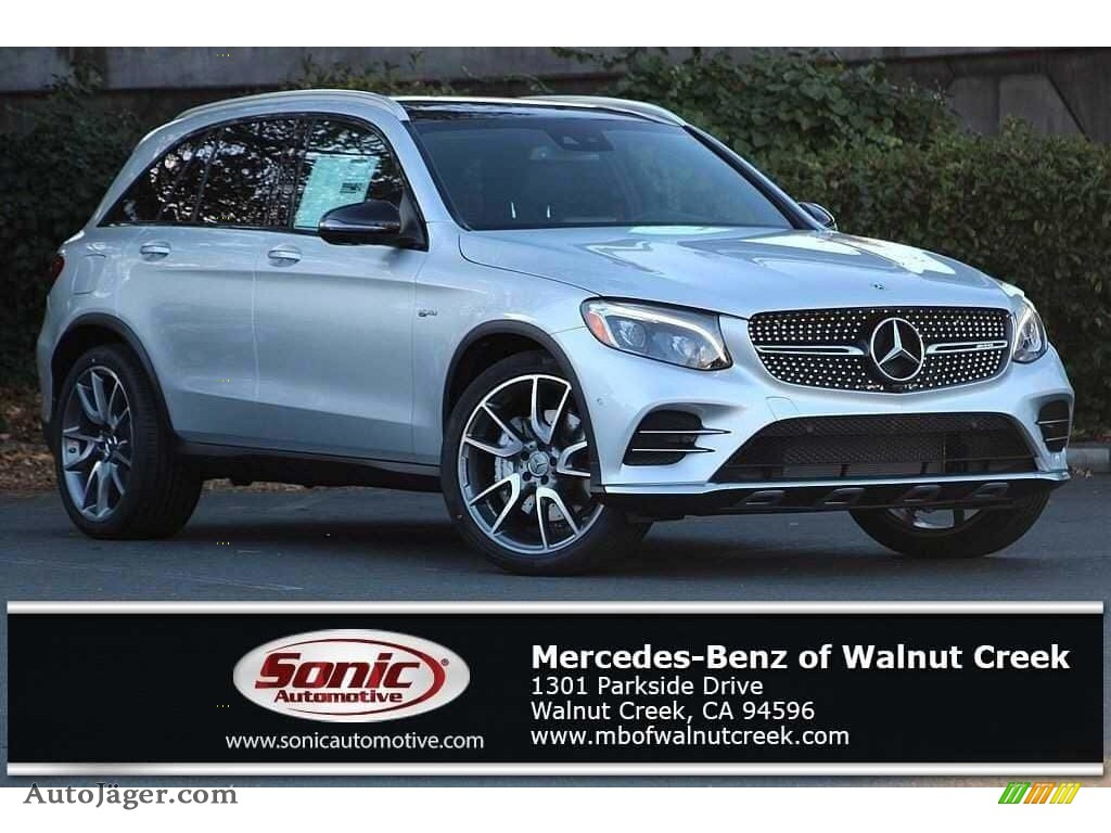 Iridium Silver Metallic / Black Mercedes-Benz GLC AMG 43 4Matic