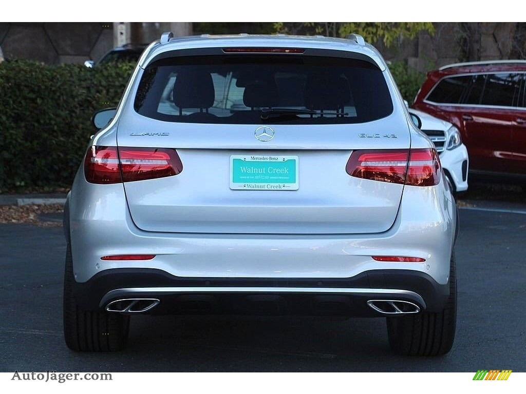2019 GLC AMG 43 4Matic - Iridium Silver Metallic / Black photo #7