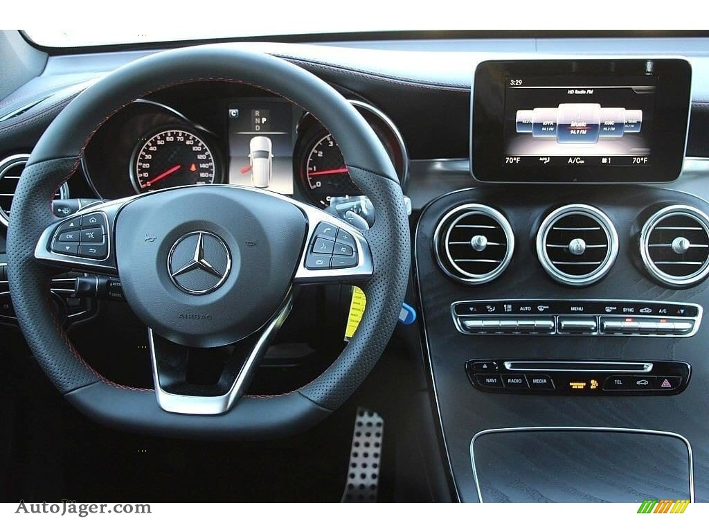 2019 GLC AMG 43 4Matic - Iridium Silver Metallic / Black photo #14