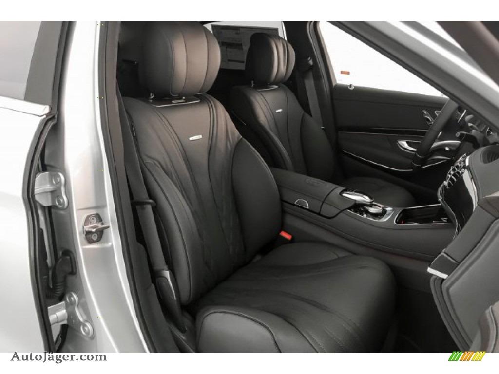 2019 S AMG 63 4Matic Sedan - Iridium Silver Metallic / Magma Grey/Espresso Brown photo #5