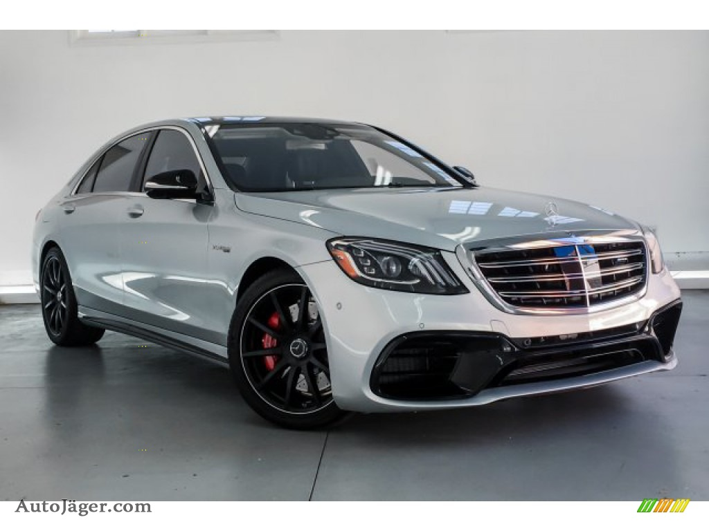 2019 S AMG 63 4Matic Sedan - Iridium Silver Metallic / Magma Grey/Espresso Brown photo #12