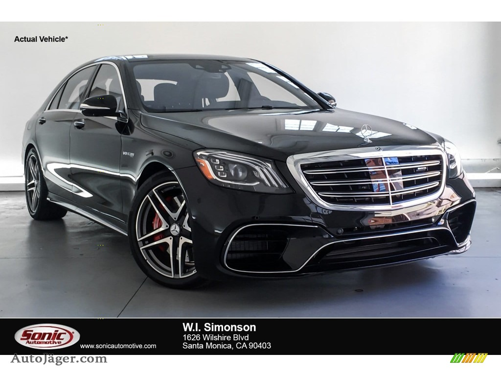 Black / Black Mercedes-Benz S AMG 63 4Matic Sedan