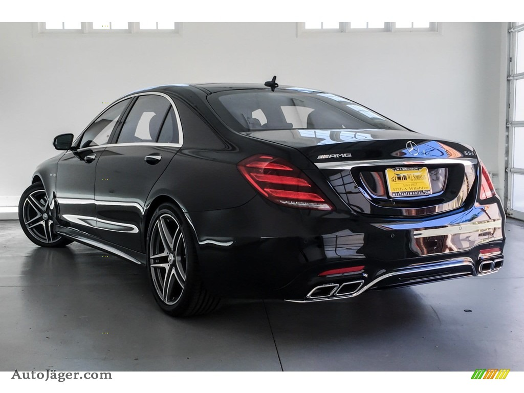 2019 S AMG 63 4Matic Sedan - Black / Black photo #2