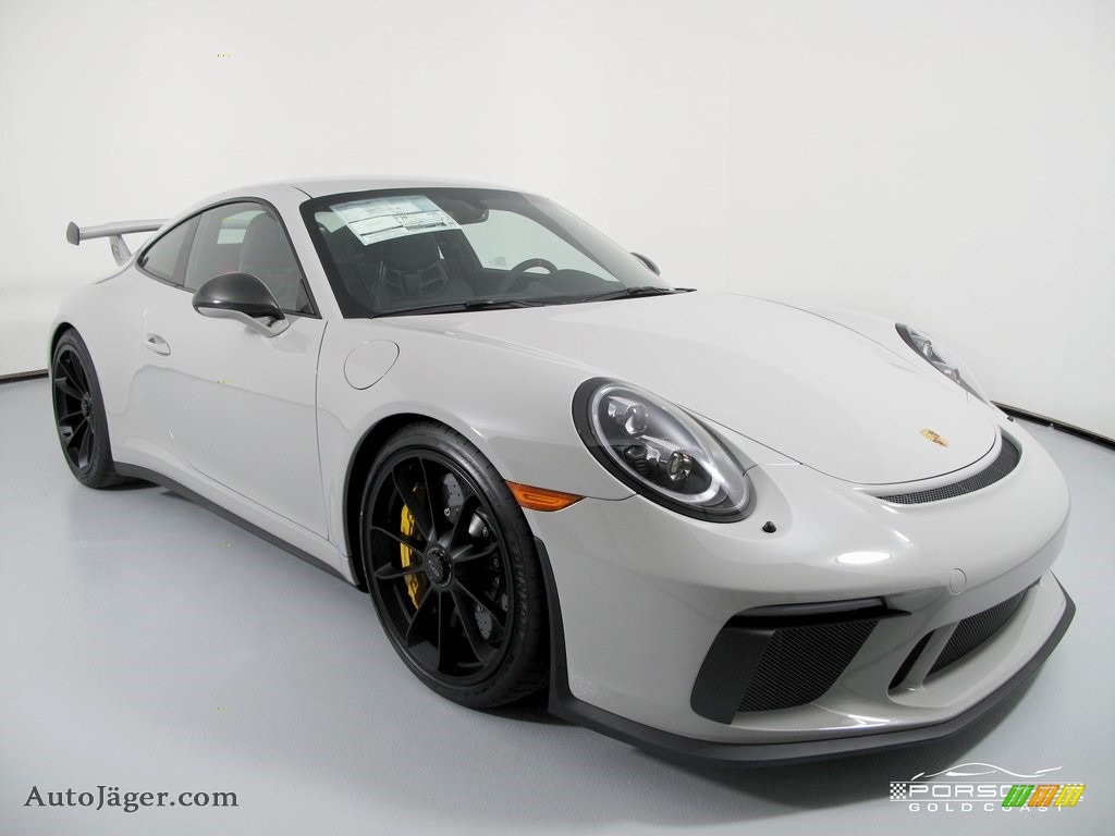 White / Black w/Alcantara Porsche 911 GT3