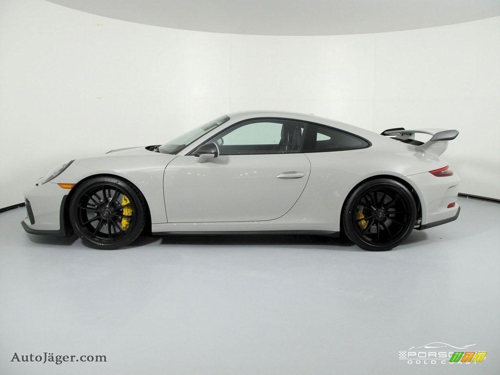 2019 911 GT3 - White / Black w/Alcantara photo #4