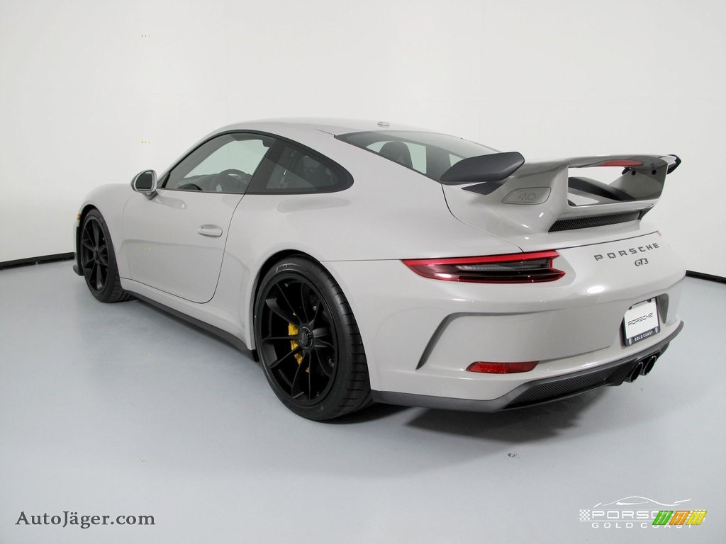 2019 911 GT3 - White / Black w/Alcantara photo #5