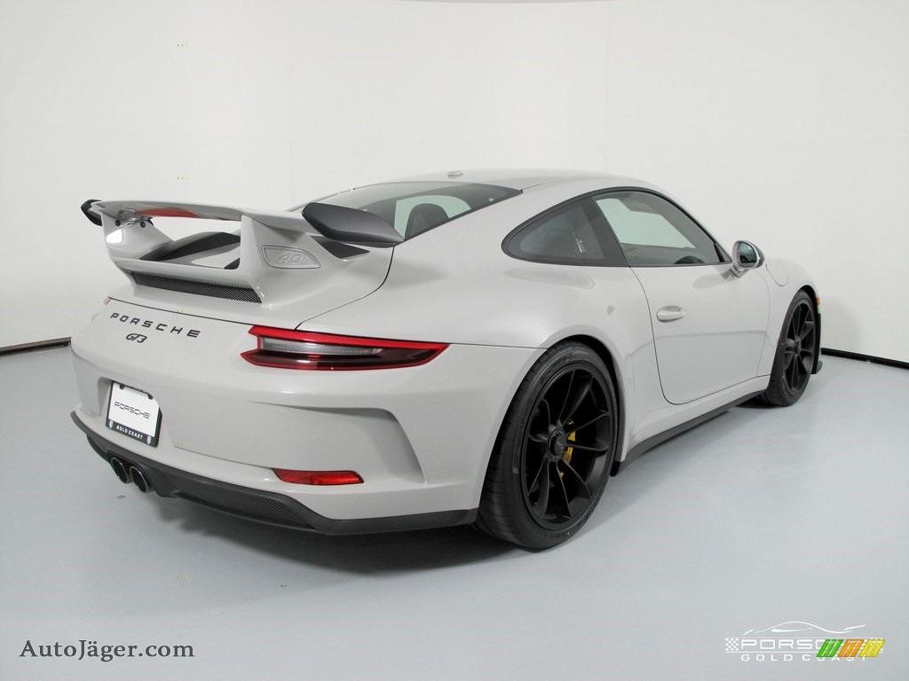 2019 911 GT3 - White / Black w/Alcantara photo #7