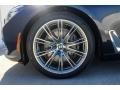 BMW 7 Series 740i Sedan Imperial Blue Metallic photo #9