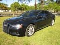 Audi A8 4.2 FSI quattro Phantom Black Pearl Effect photo #1