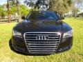 Audi A8 4.2 FSI quattro Phantom Black Pearl Effect photo #16