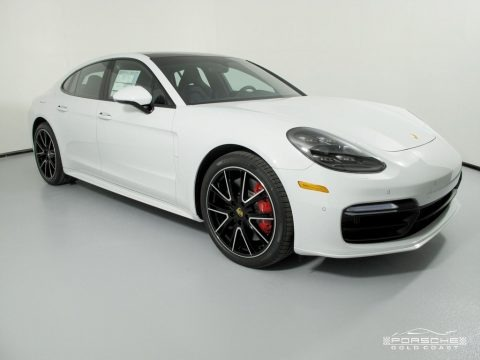 White 2018 Porsche Panamera Turbo