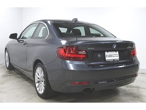 Mineral Grey Metallic 2016 BMW 2 Series 228i xDrive Coupe