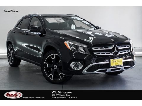 Night Black 2019 Mercedes-Benz GLA 250