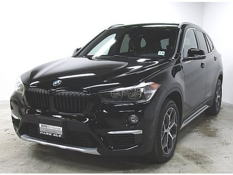 Jet Black 2018 BMW X1 xDrive28i