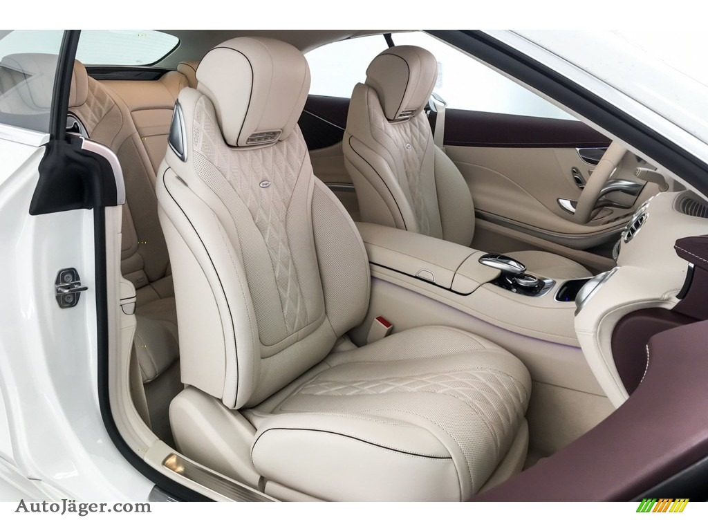 2019 S S 560 Cabriolet - designo Diamond White Metallic / designo Porcelain/Titian Red photo #5
