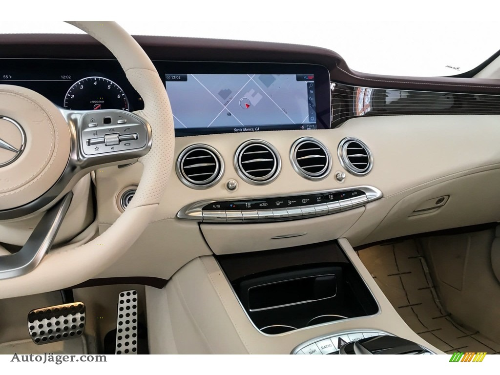 2019 S S 560 Cabriolet - designo Diamond White Metallic / designo Porcelain/Titian Red photo #6