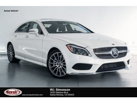 designo Diamond White Metallic 2018 Mercedes-Benz CLS 550 Coupe