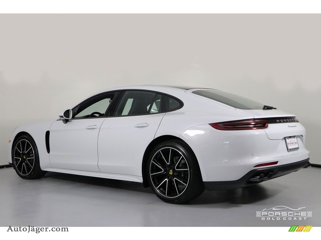 2019 Panamera 4 - White / Black photo #4