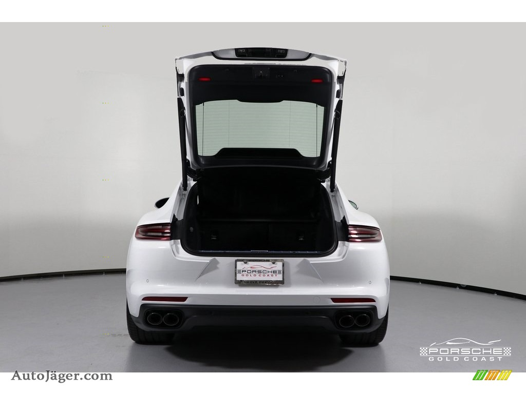 2019 Panamera 4 - White / Black photo #7