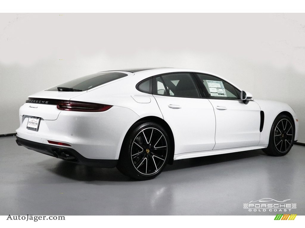 2019 Panamera 4 - White / Black photo #9