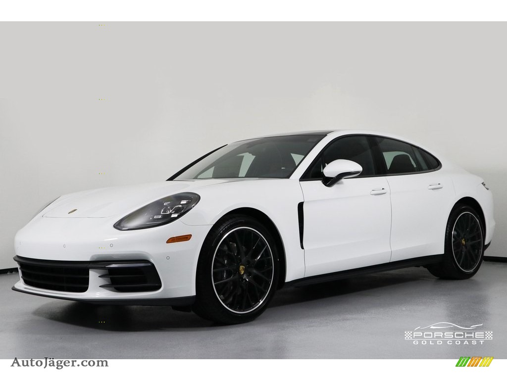 2019 Panamera 4 - White / Black photo #3