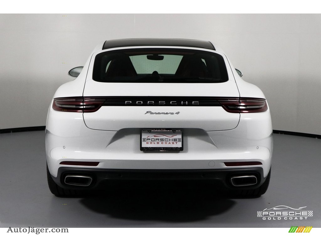 2019 Panamera 4 - White / Black photo #6