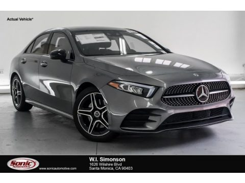 Mountain Grey Metallic 2019 Mercedes-Benz A 220 Sedan