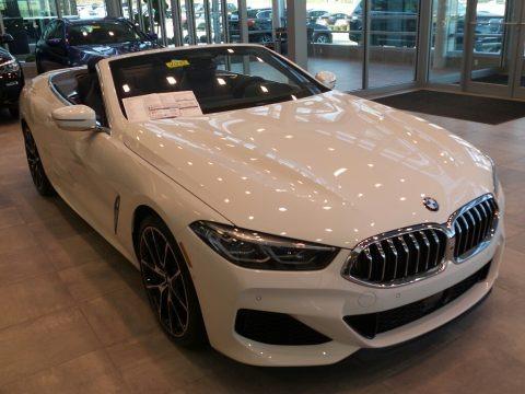 Alpine White 2019 BMW 8 Series 850i xDrive Convertible