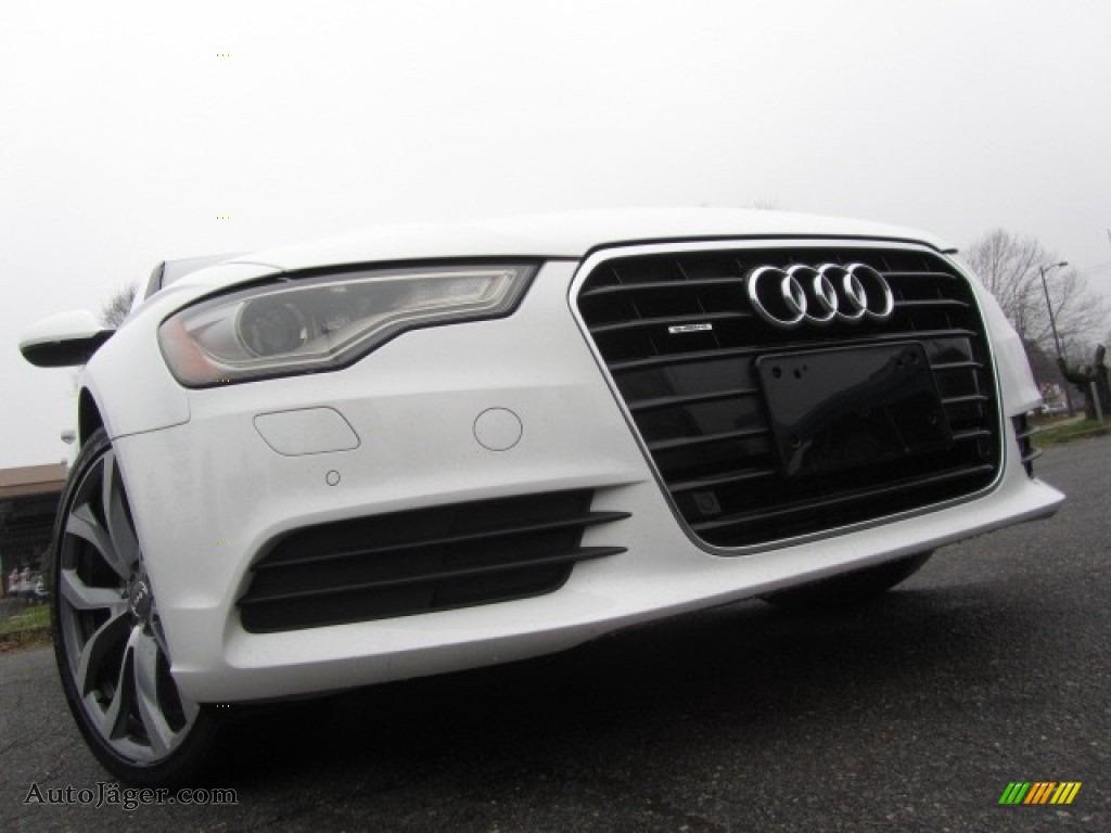 2013 A6 2.0T quattro Sedan - Ibis White / Black photo #1