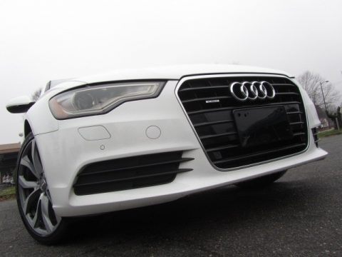 Ibis White 2013 Audi A6 2.0T quattro Sedan